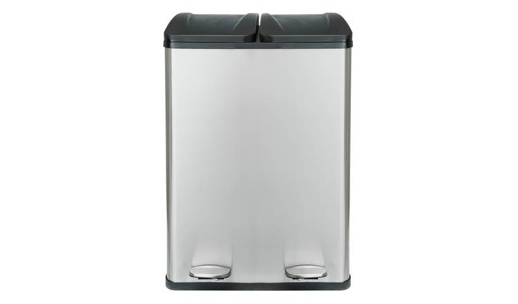 Argos Home 60 Litre 2 Compartment Recycling Bin