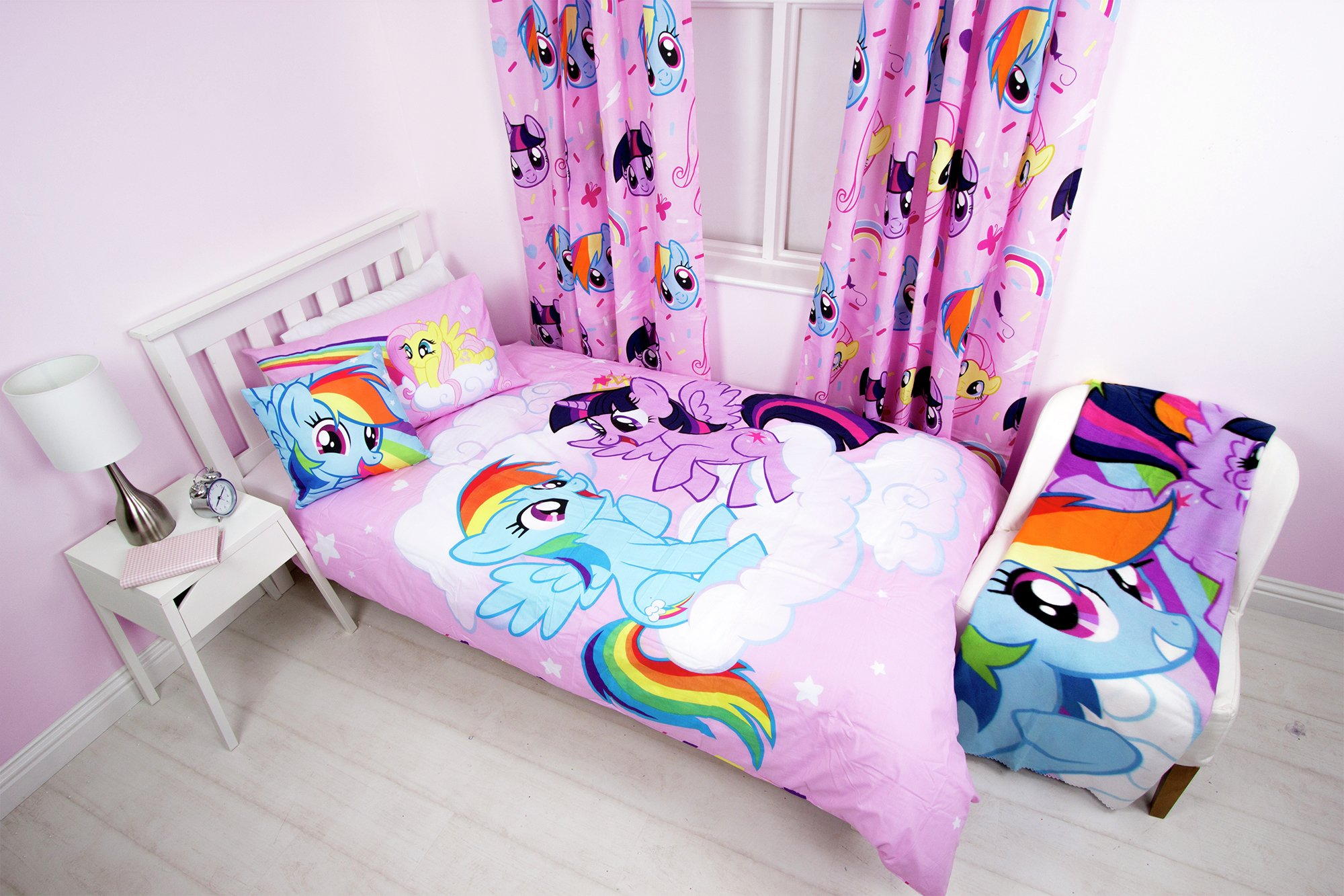 my little pony equestrian bedroom set. review