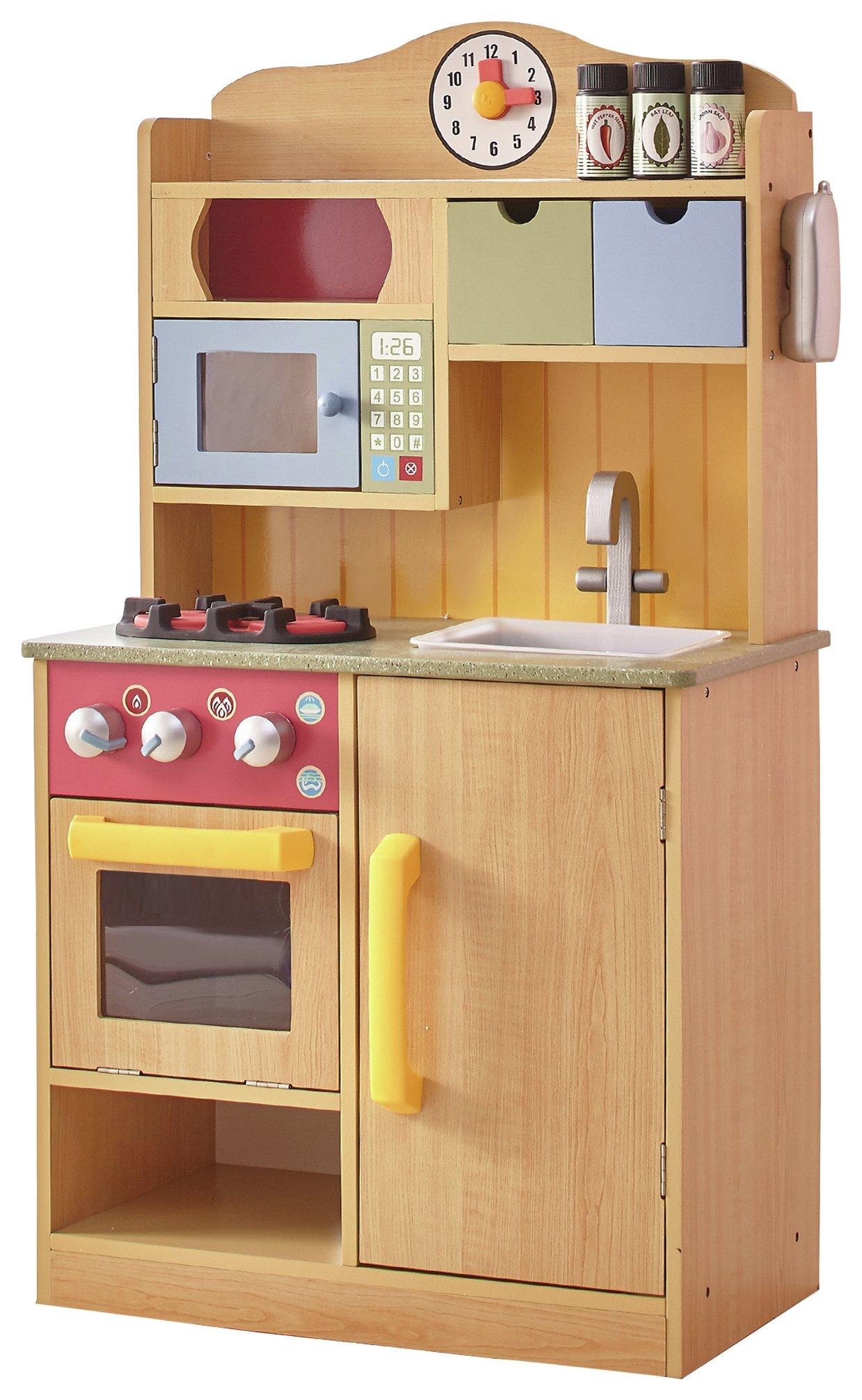 Swell Teamson Kids Wooden Little Chef Play Kitchen Download Free Architecture Designs Viewormadebymaigaardcom