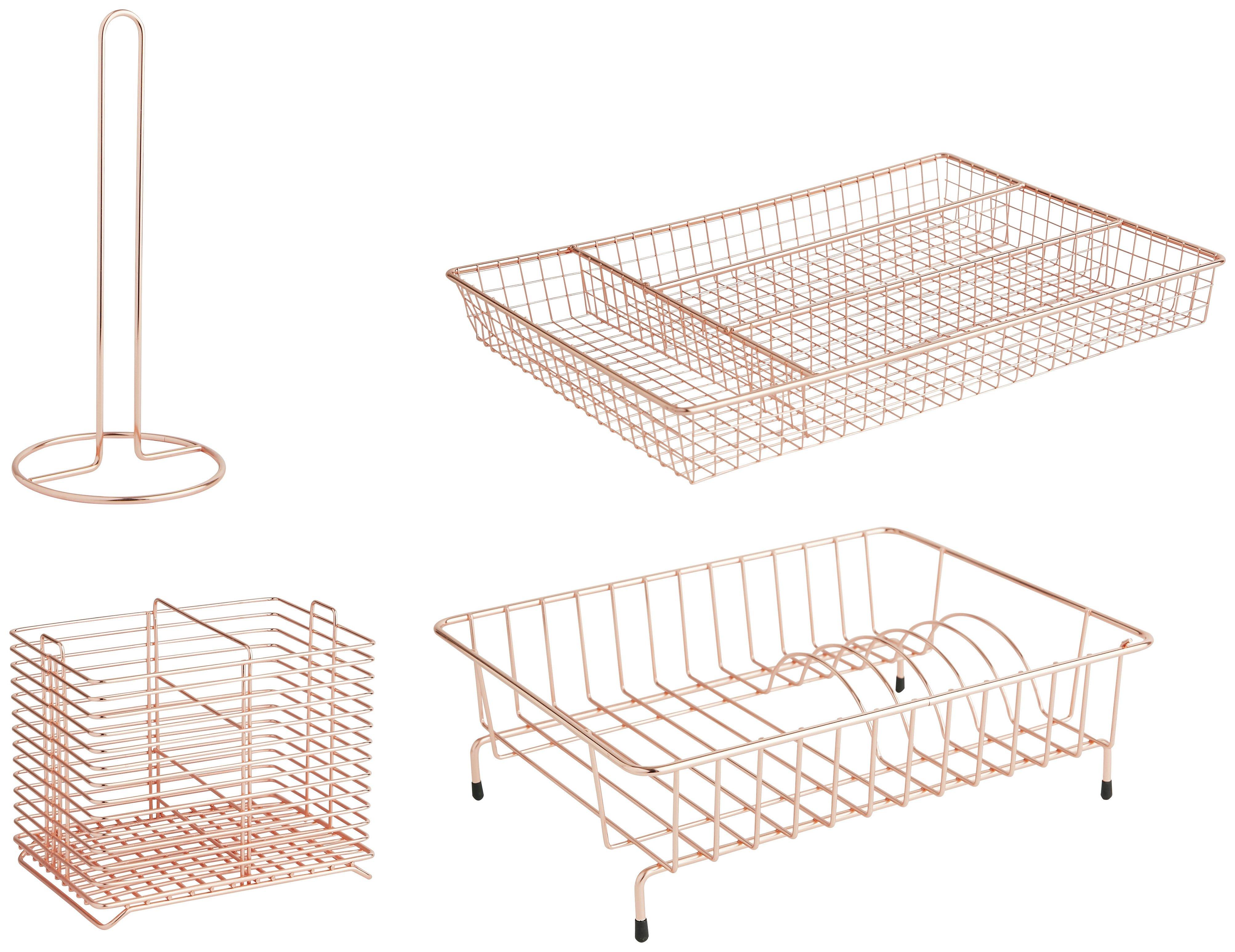Habitat Nevin 4 Piece Kitchen Set - Copper