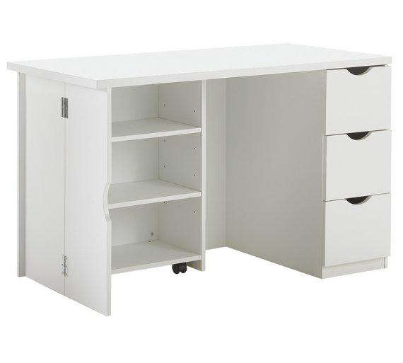 tiny workspace 10 space saving desks millar west. Black Bedroom Furniture Sets. Home Design Ideas
