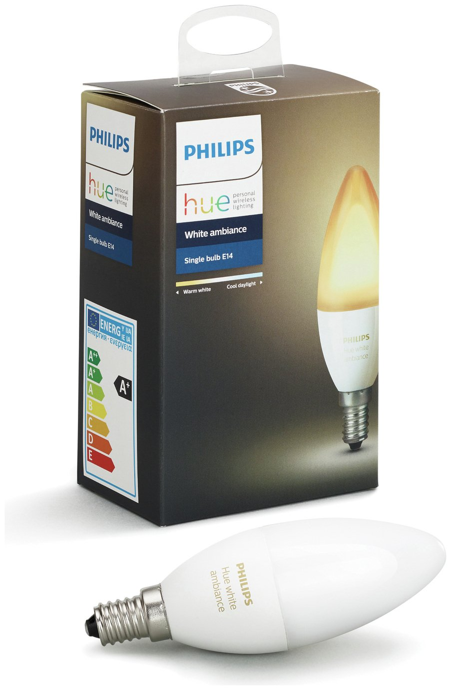 Hue Lampen E14 : Buy philips hue white ambience e candle lamp smart