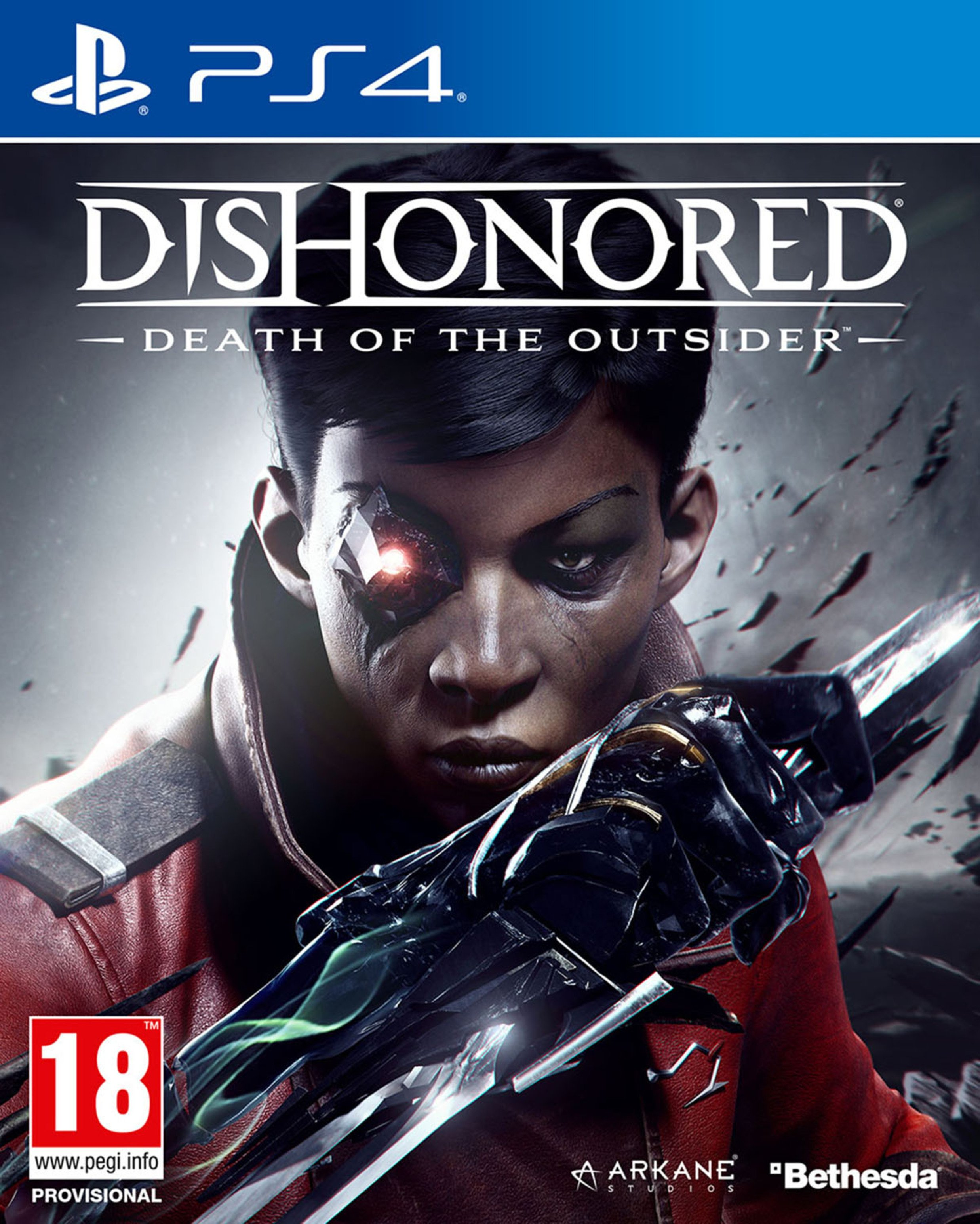 Image of Dishonored: Death of the Outsider PS4 Game.
