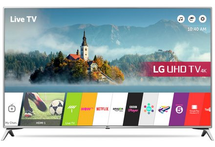 LG 43UJ651V 43 Inch Smart Ultra HD TV with HDR