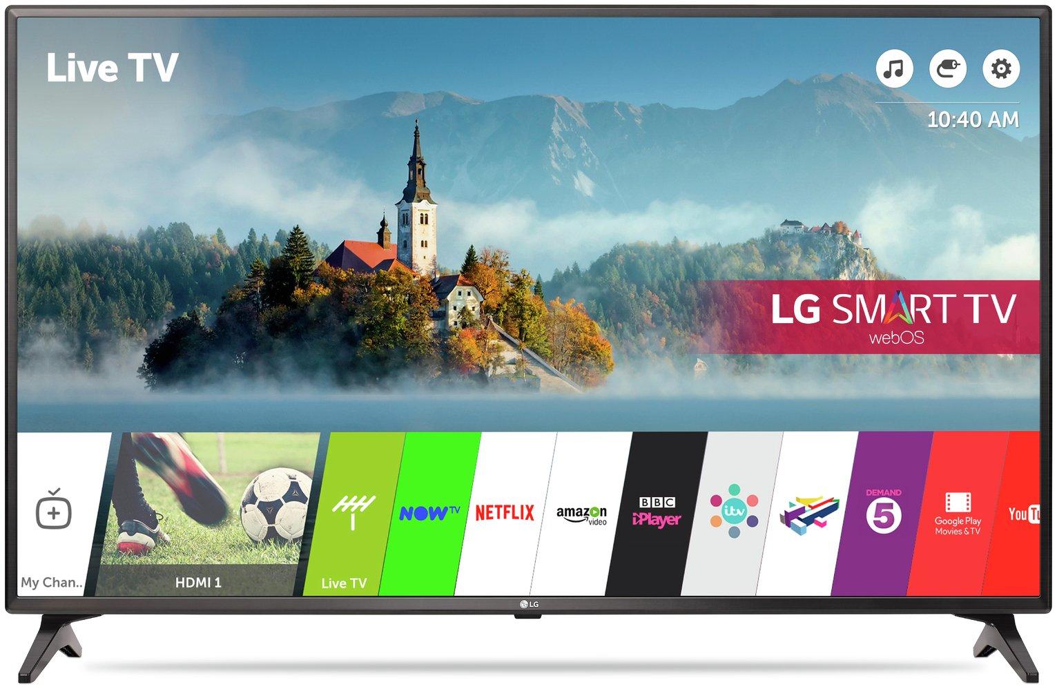 LG 49LJ614V 49 Inch Smart Full HD TV
