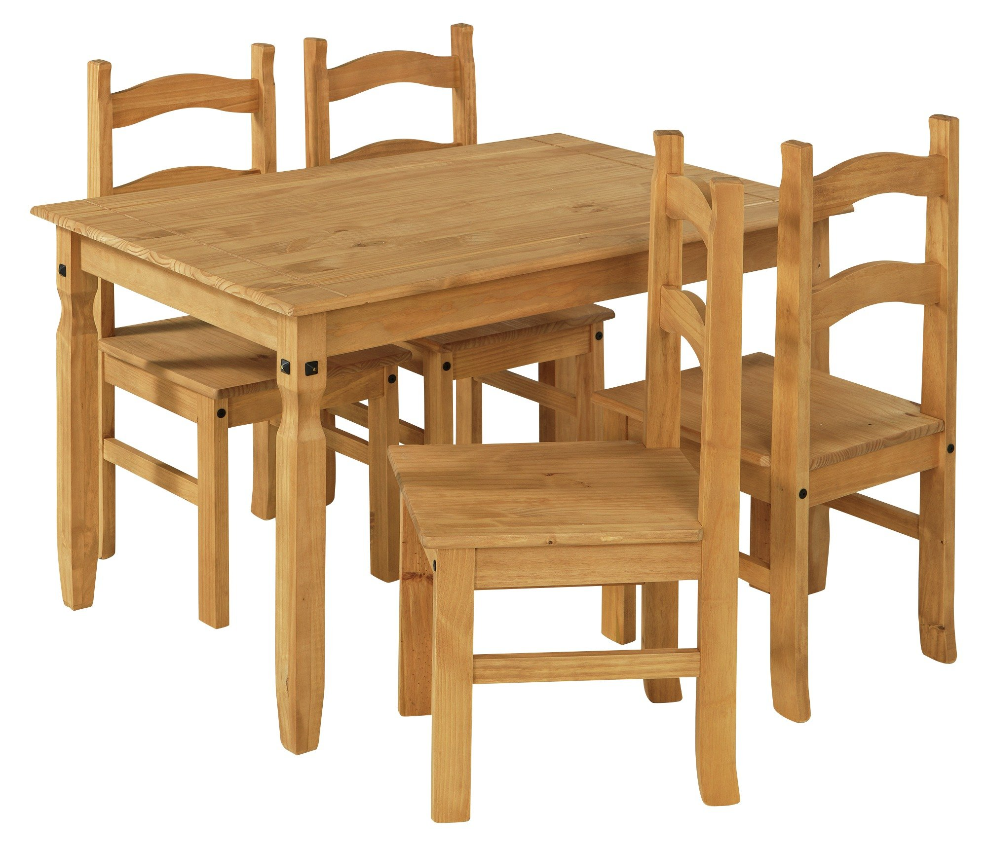 Argos Home San Diego Solid Wood Table & 4 Chairs Reviews