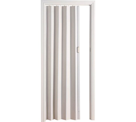 Buy White Oak Effect Folding Door | Doors | Argos