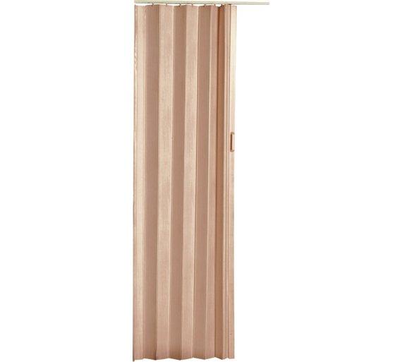Buy Natural Pine Effect Folding Door | Doors | Argos