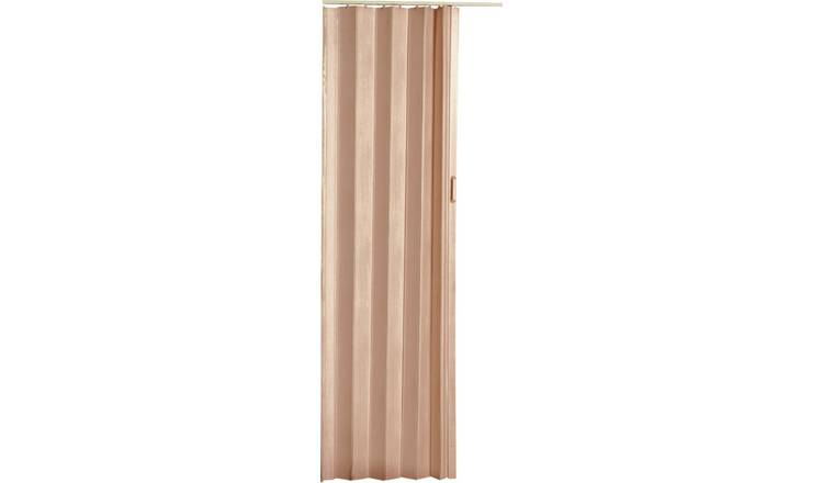 High Quality Natural Pine Effect Folding Door