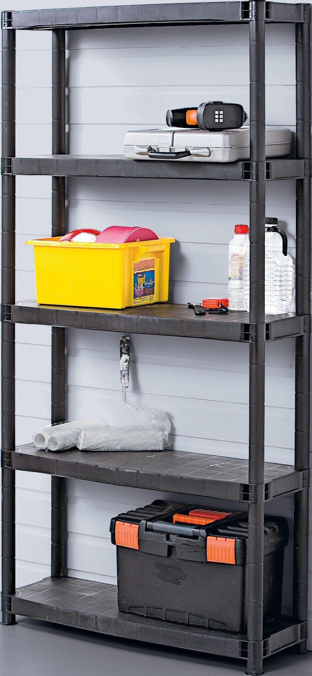 Sale On 5 Tier Plastic Shelving Unit Ram Now Available