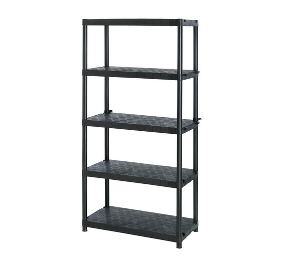 Extra Heavy Duty 5 Tier Robust Shelving Unit701/7735 - Buy Extra Heavy Duty 5 Tier Robust Shelving Unit At Argos.co.uk