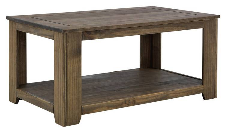 Buy Argos Home Amersham Solid Wood Coffee Table Dark Pine Coffee Tables Argos