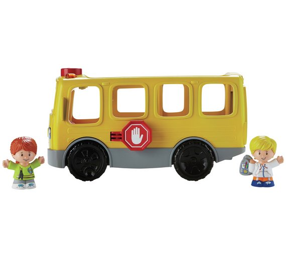 Buy Fisher-Price Little People Sit with Me School Bus at Argos.co ...