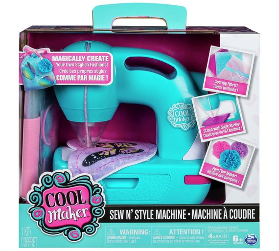 Buy Cool Maker Sew N' Style Sewing Machine at Argos.co.uk