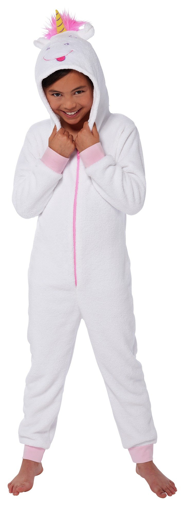 Image of Minions Fluffy Onesie - 7-8 Years