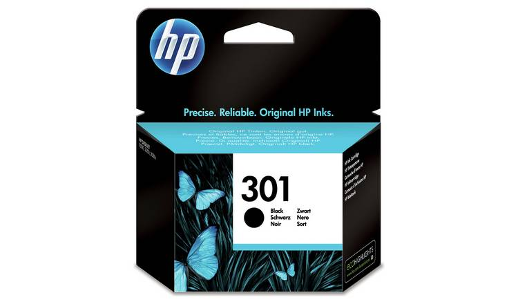 HP 301 Original Ink Cartridge - Black