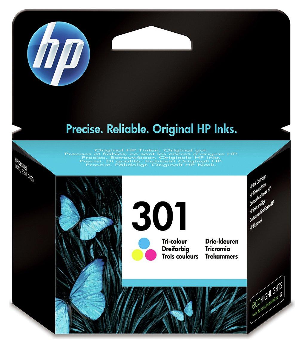 HP 301 Original Ink Cartridge - Colour