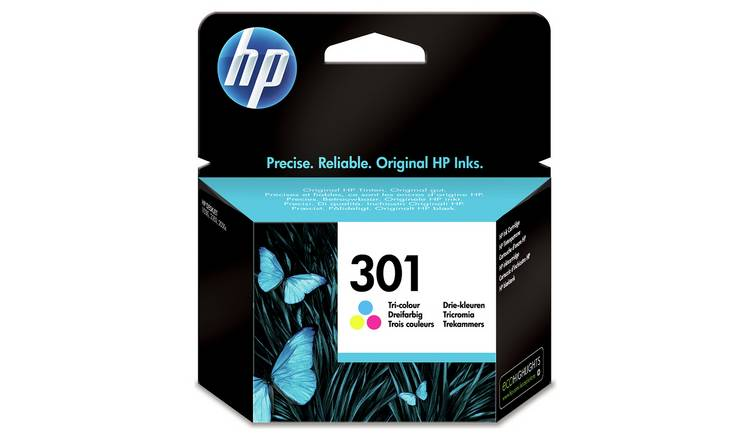 HP 301 Original Ink Cartridge - Colour
