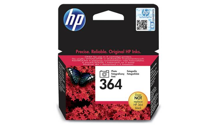 HP 364 Original Ink Cartridge - Photo Black