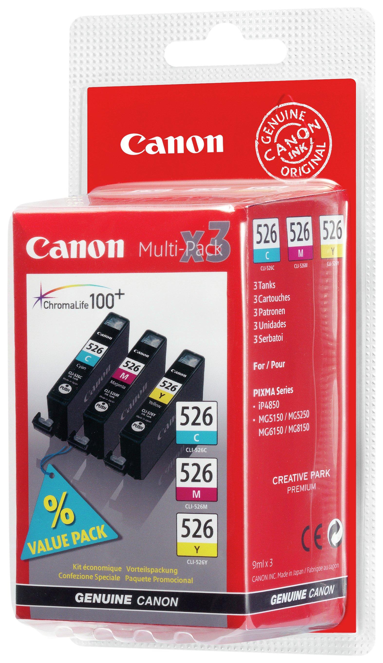 Canon Canon CLI-526 Ink Cartridge Multi-pack.