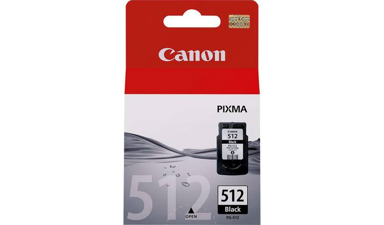 Canon PG-512 XL High Capacity Ink Cartridge - Black