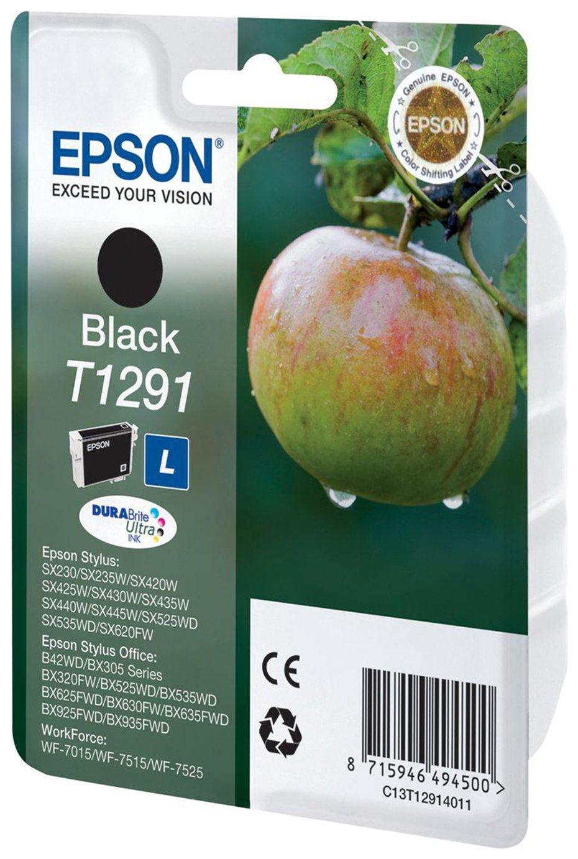 Image of Epson Apple T1291 Black Ink Cartridge