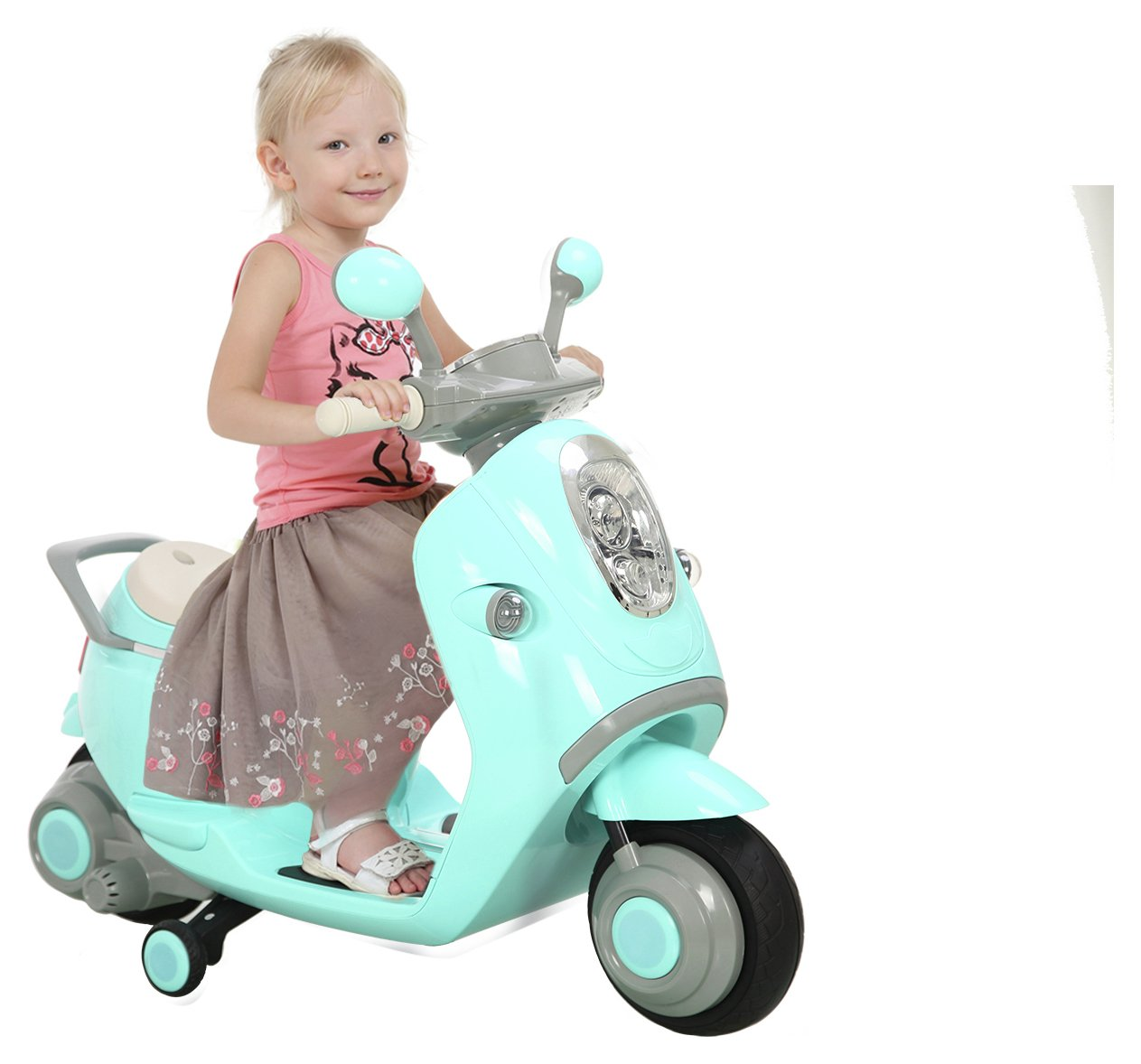 Buy Chad Valley 6v Retro Scooter Battery Powered Vehicles Argos