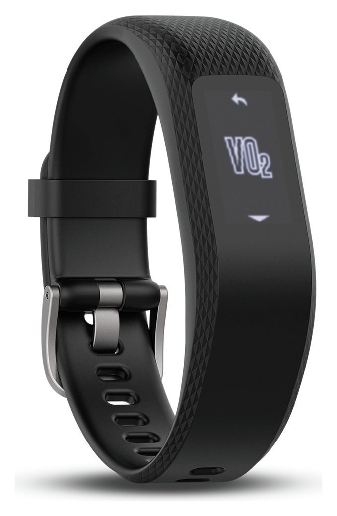 Garmin Vivosmart 3 Black Regular Fitness Activity Tracker