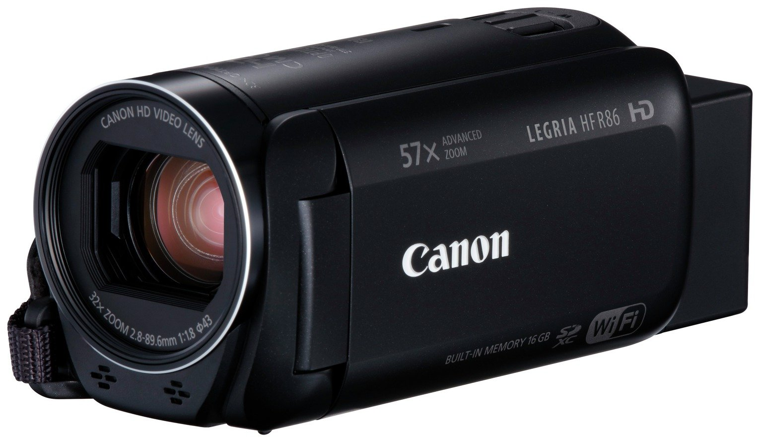 Image of Canon Legria HF R86 Camcorder