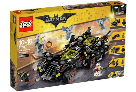 LEGO The Batman Movie Ultimate Batmobile - 70917