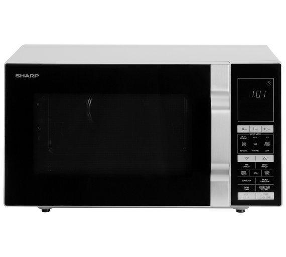 Sharp R890SLM 30L 900W Combi Microwave - Silver