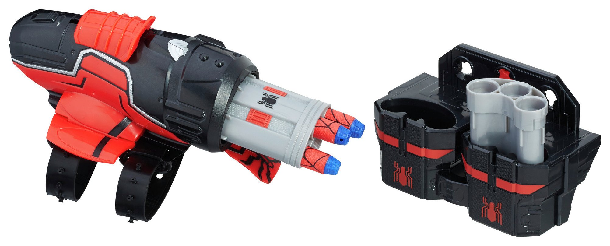 spiderman homecoming rapid reload blaster