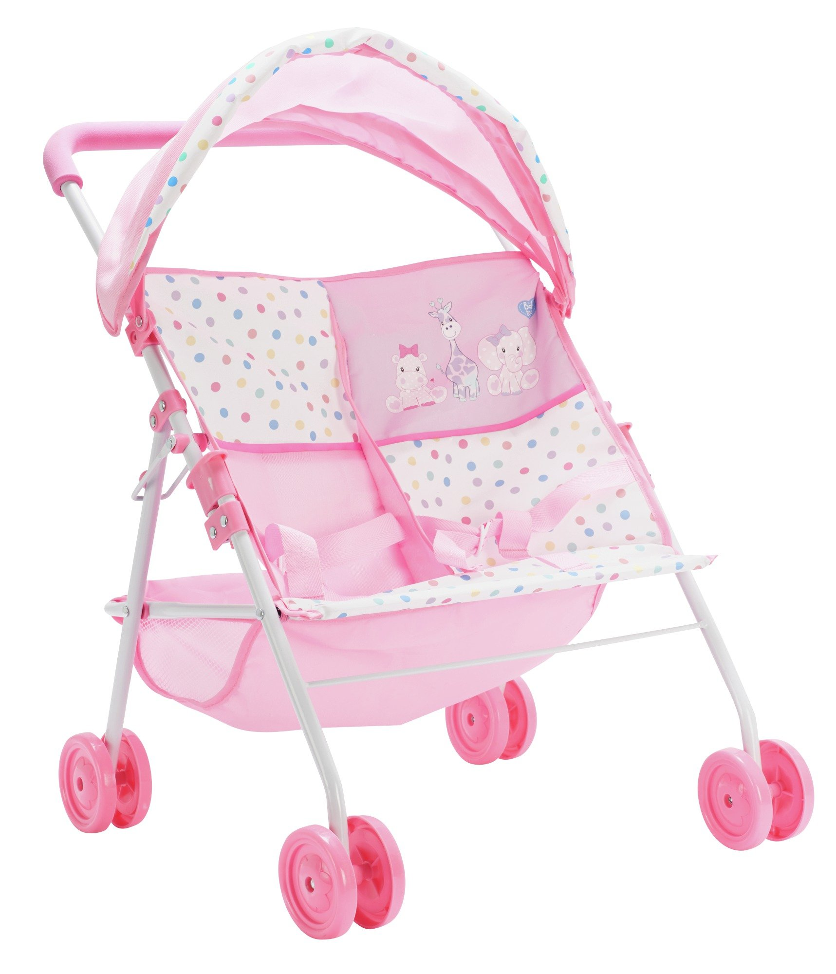 Chad Valley Babies to Love Twin Stroller.