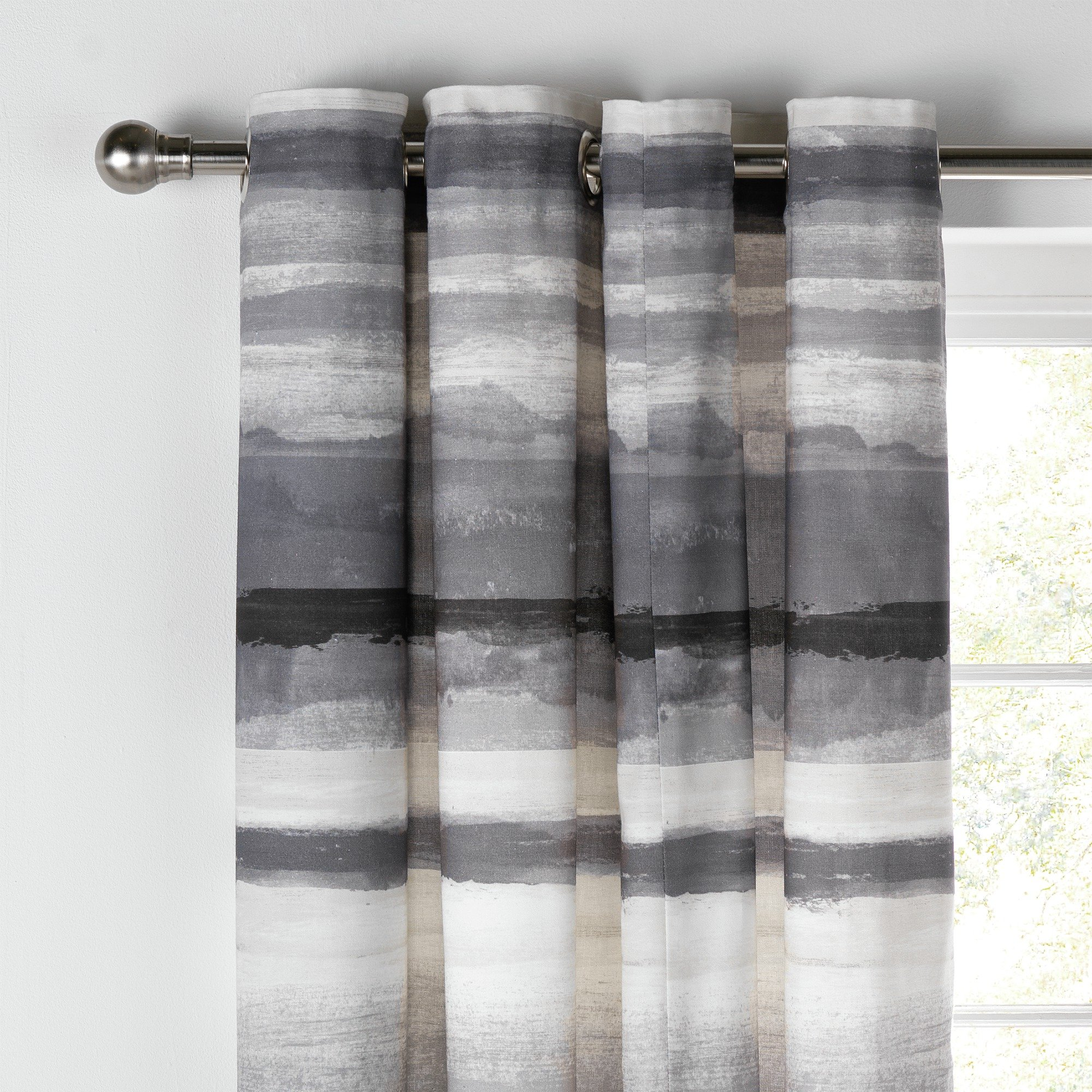 Collection Watercolour Lined Curtains - 168x183cm | £39.99 ...