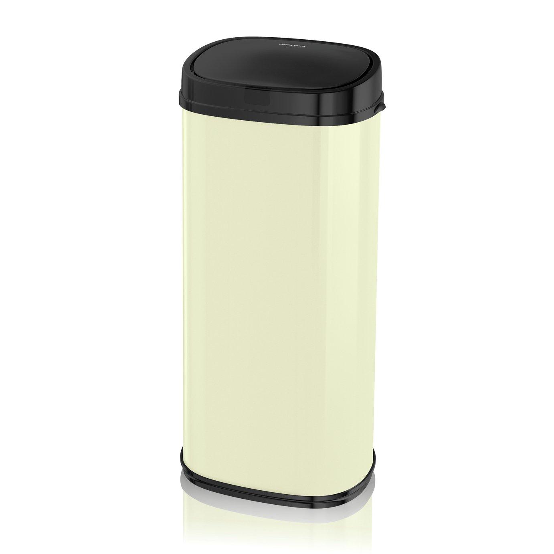 Morphy Richards 50 Litre Sensor Bin - Cream