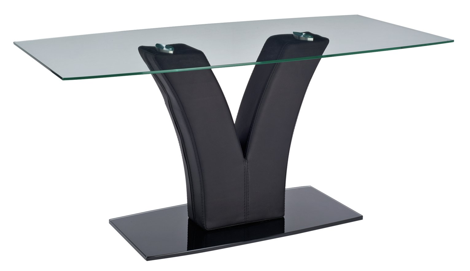Argos Home Oriana Glass Coffee Table - Black