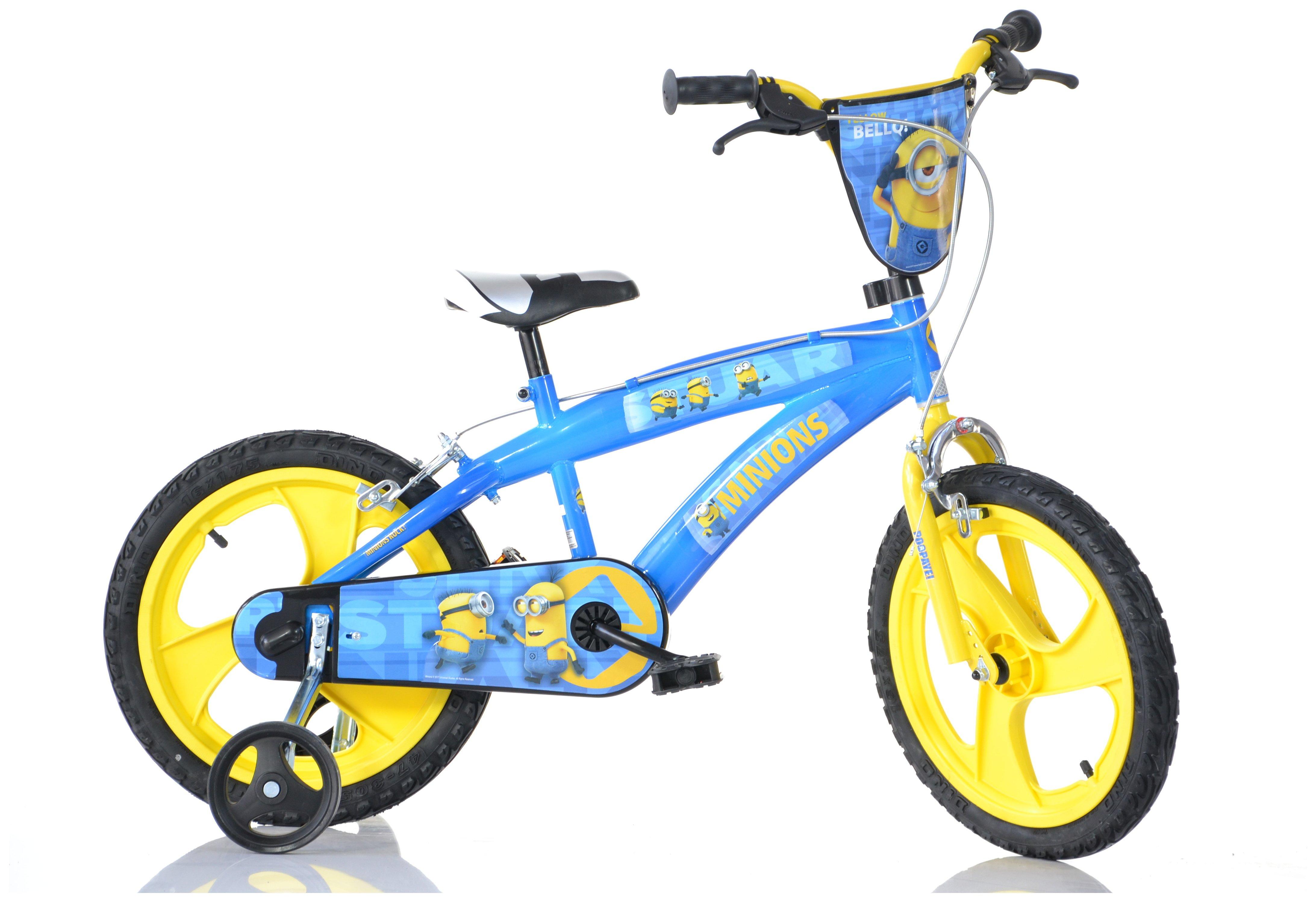 Image of Dino Bikes Minions 14 Inch Kids Bike