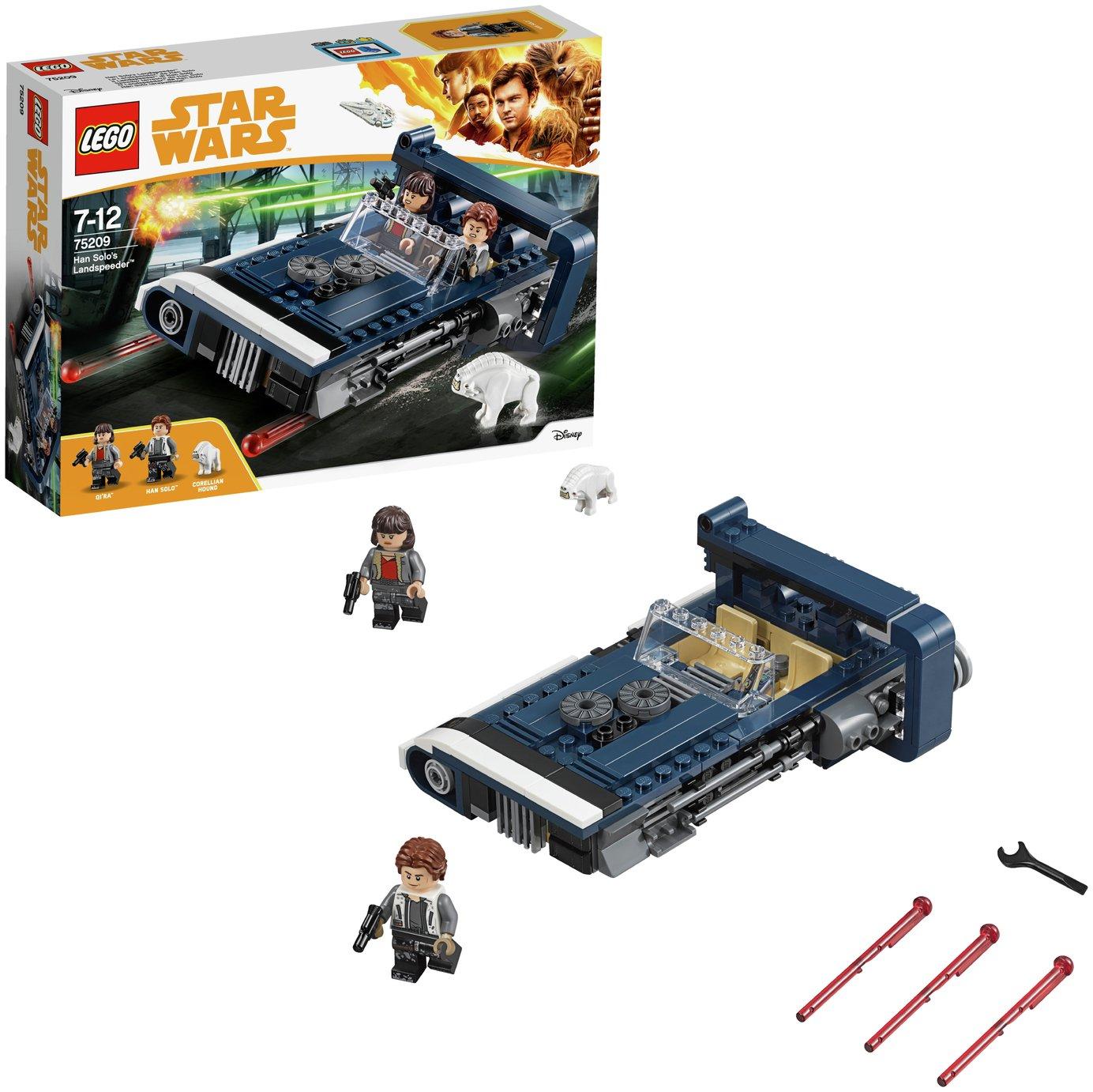 LEGO Star Wars Han Solo's Landspeeder Toy Playset - 75209