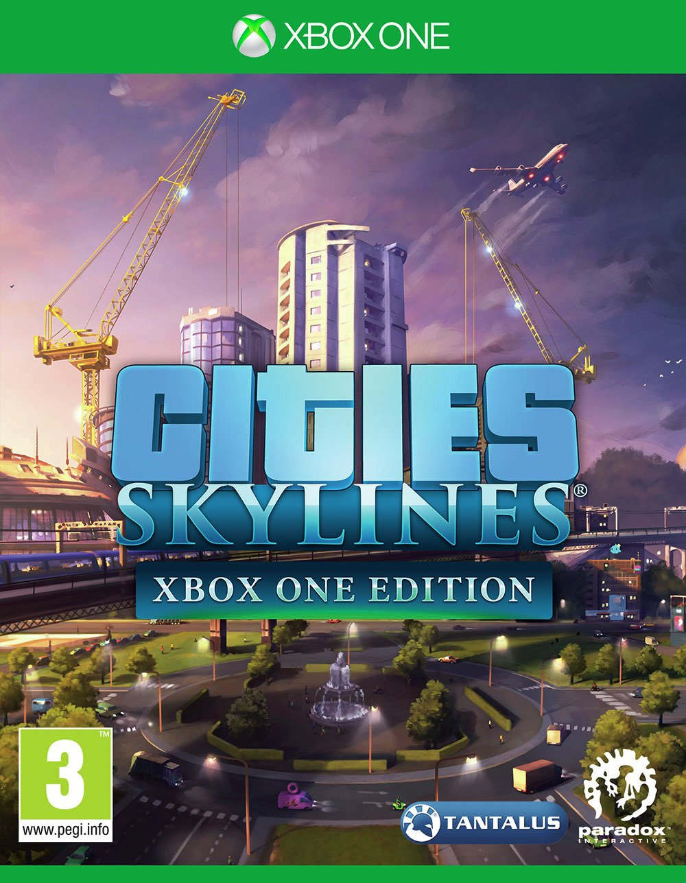 Cities: Skylines Xbox One Game.