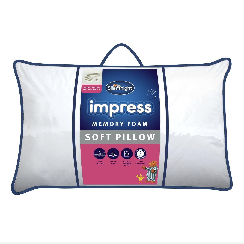 Silentnight Rebound Soft Memory Foam Pillow review