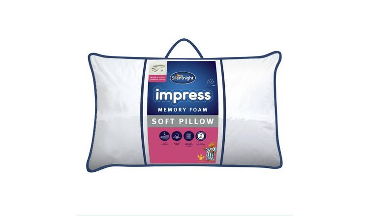Buy Silentnight Impress Soft Memory Foam Pillow Pillows