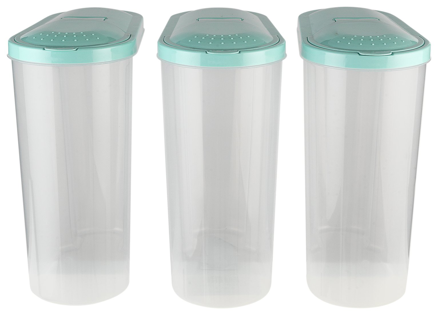 Argos Home 5 Litre Cereal Dispenser - Set of 3
