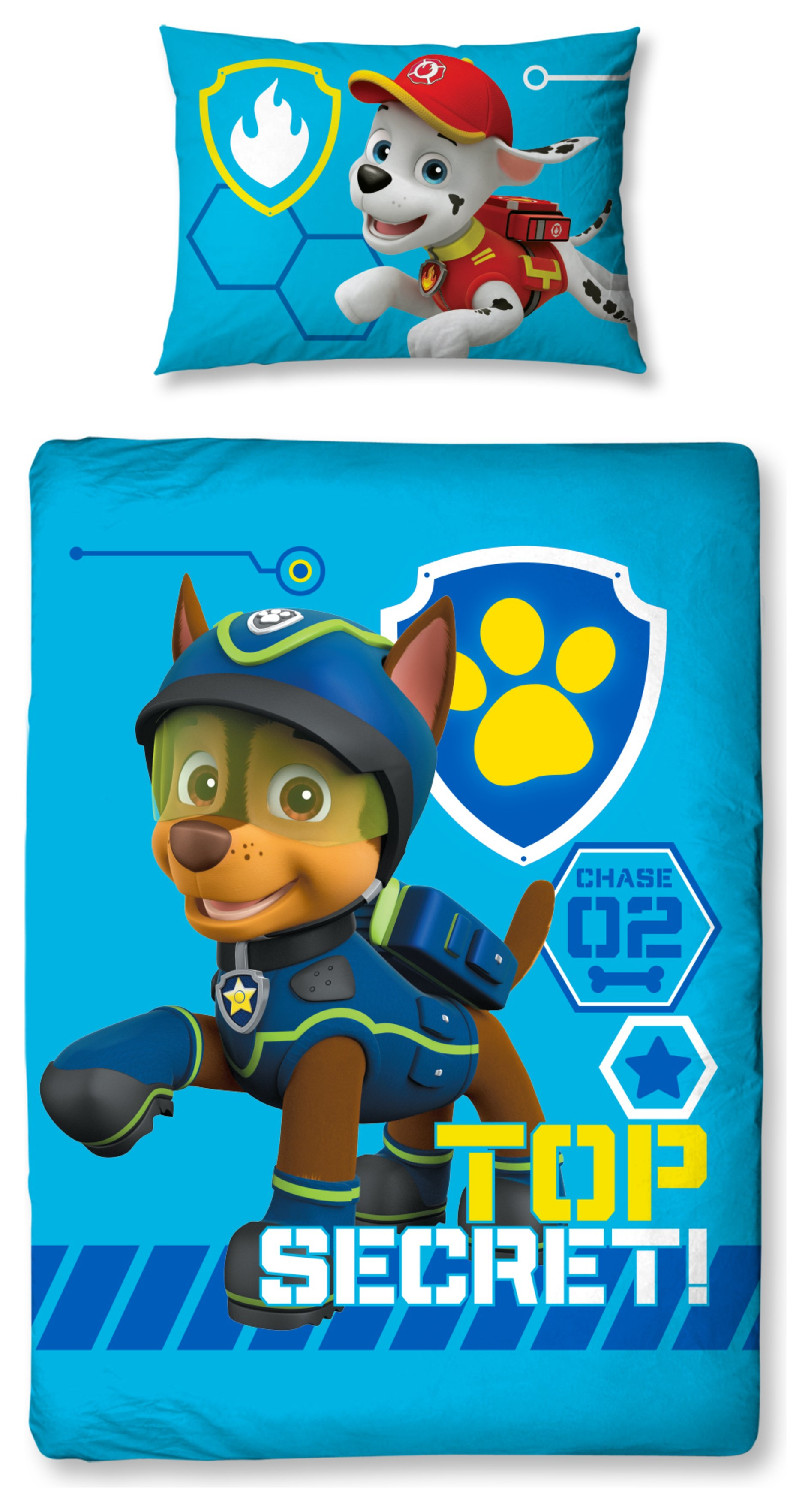 Paw Patrol Spy Bedding Set - Toddler