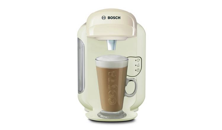 Buy Tassimo By Bosch Vivy 2 Pod Coffee Machine Cream Coffee Machines Argos