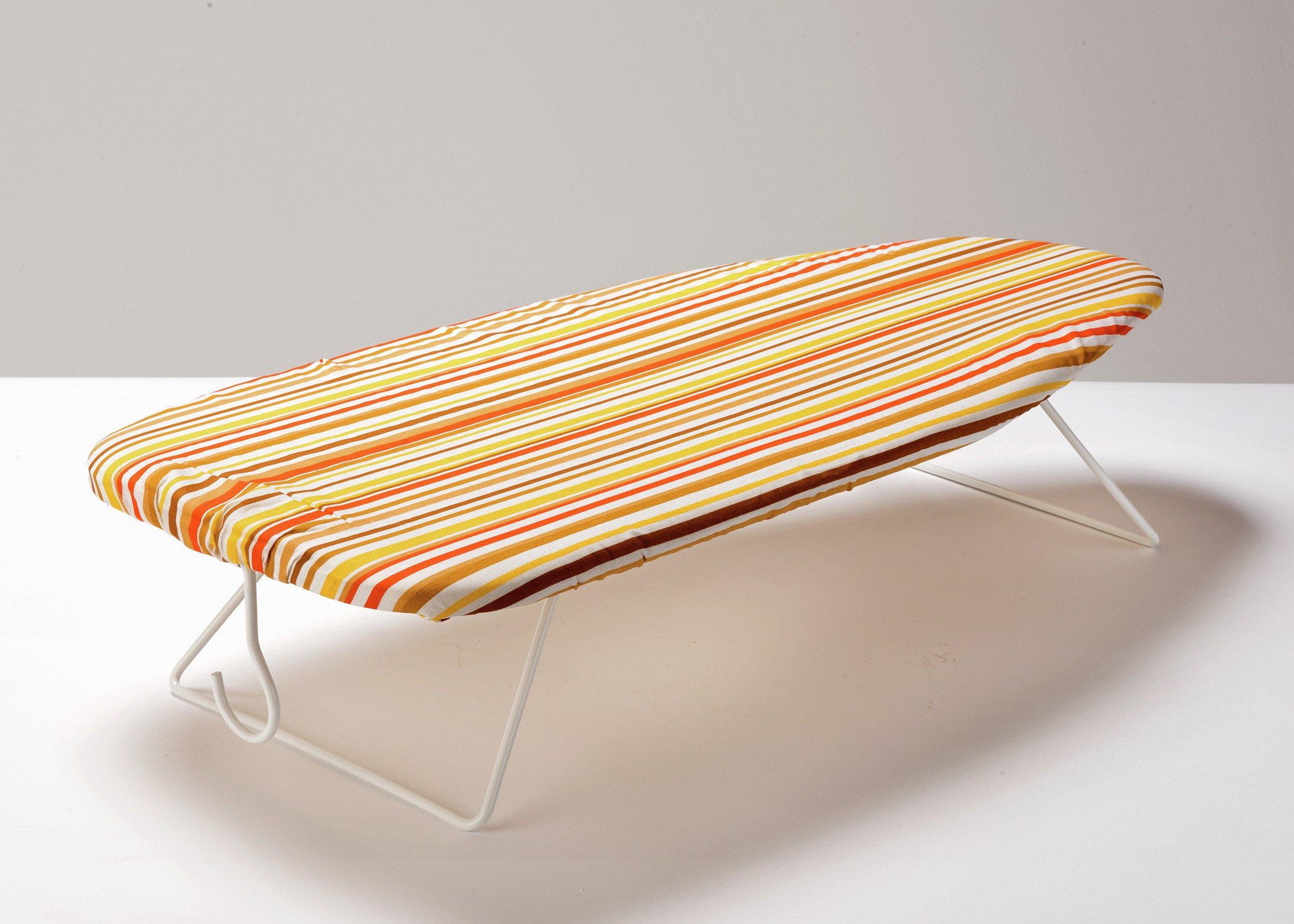 Image of HOME 75 x 34cm Table Top Ironing Board - Stripes