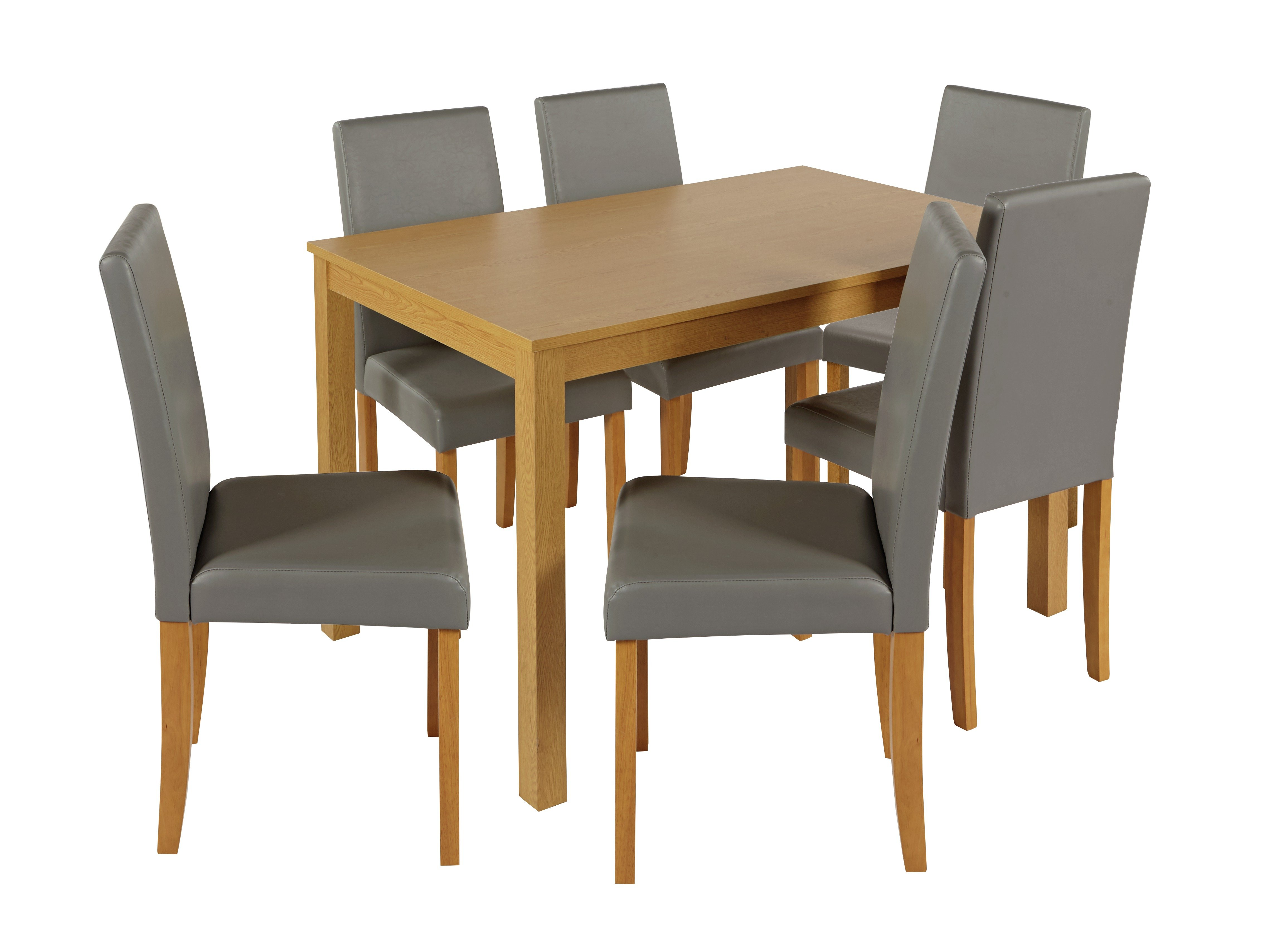 Argos Home New Elmdon Oak Eff Dining Table & 6 Chairs review