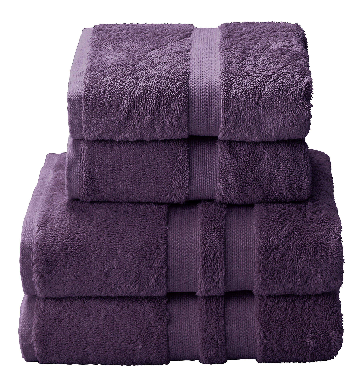 Heart of House Egyptian Cotton 4 Piece Towel Bale - Mauve.