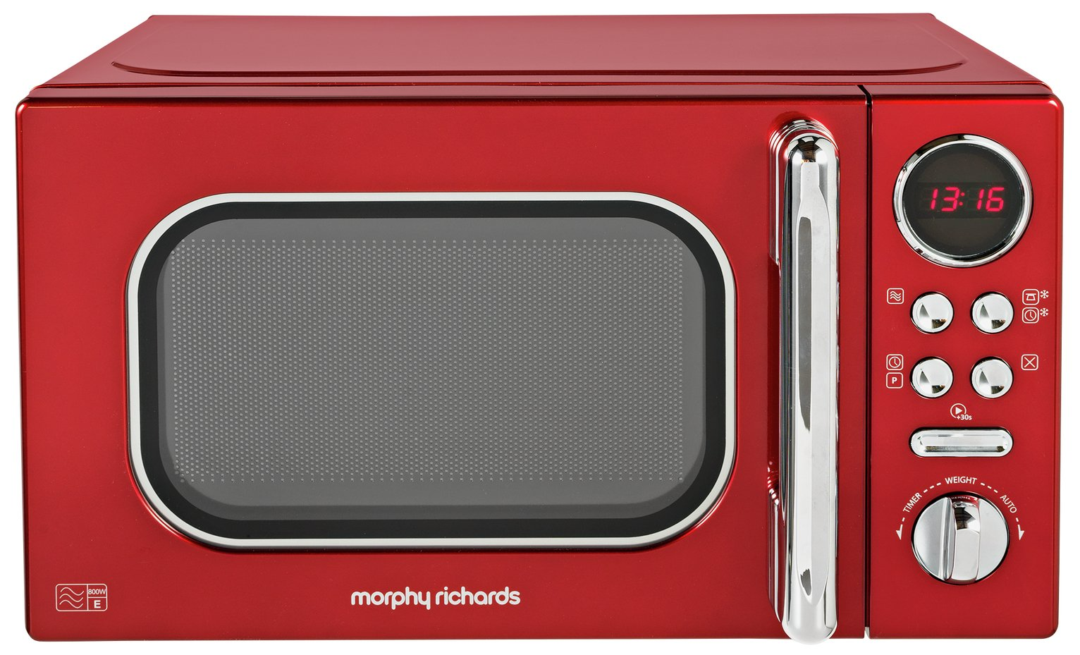 Morphy Richards Evoke Red Microwave 20L Solo 800w 511502 review