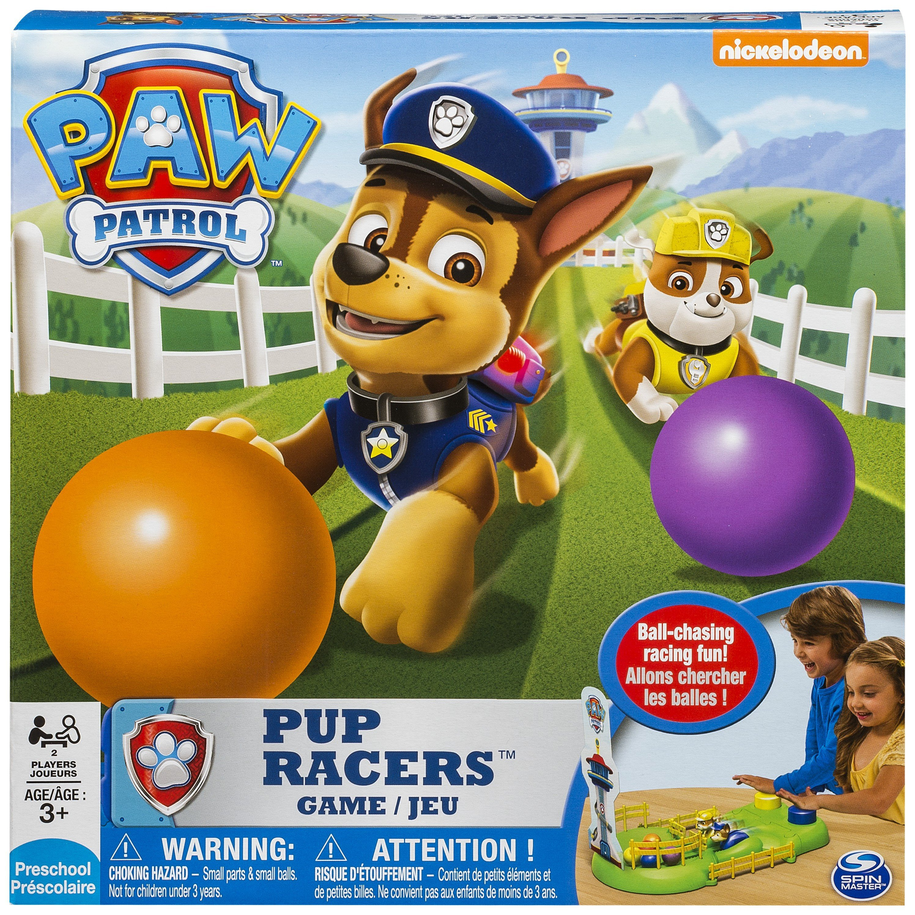 PAW Patrol Pup Racers Game. review