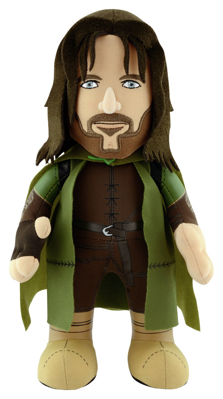 Image of Bleacher Creatures Lord of the Rings Aragorn 10 Inch Plush.
